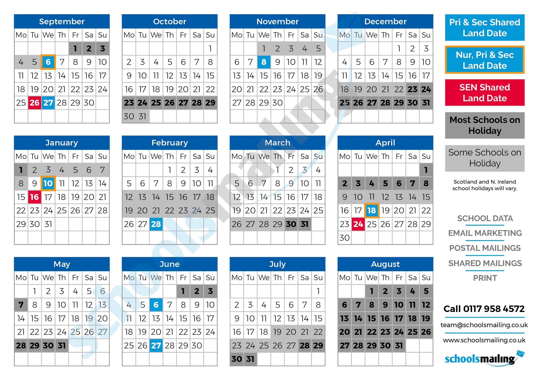 2017-18 Term Calendar