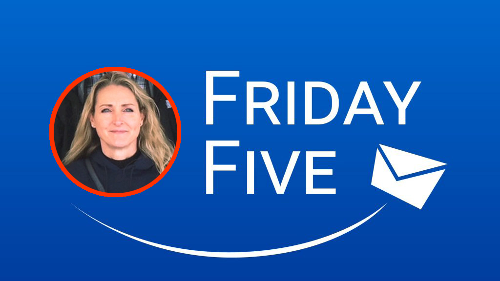 Friday Five with Sarah